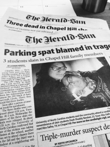 A quick look at some of The Herald-Sun's coverage of The Chapel Hill Shooting.